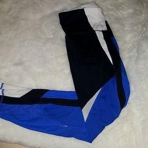 Athleta colorblock leggings